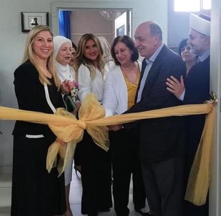 افتتاح مختبر الحاسوب في مؤسسات الدكتور محمد خالد الإجتماعية