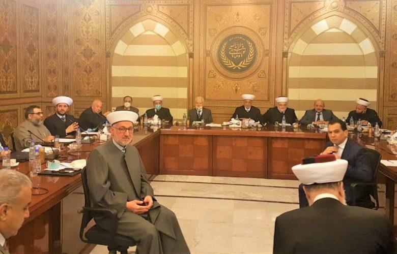 بيان الجلسة الدورية للمجلس الشرعي الإسلامي الأعلى